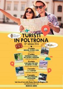 turisti in poltrona