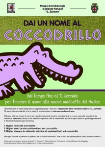 locandina concorso coccodrillo