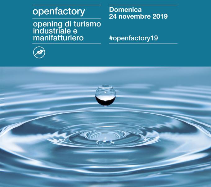 """Iscriviti ad """"Open factory"""", con Medio Chiampo viaggio alla scoperta della nostra acqua - Corriere Vicentino"""