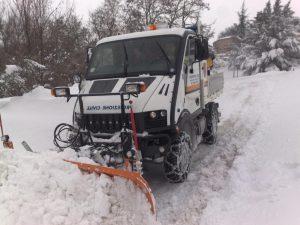 Emergenza neve Centro Italia